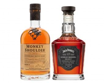 Whisky, Bourbon, Cognac