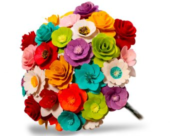 Duftende Blumesträuße aus Holz